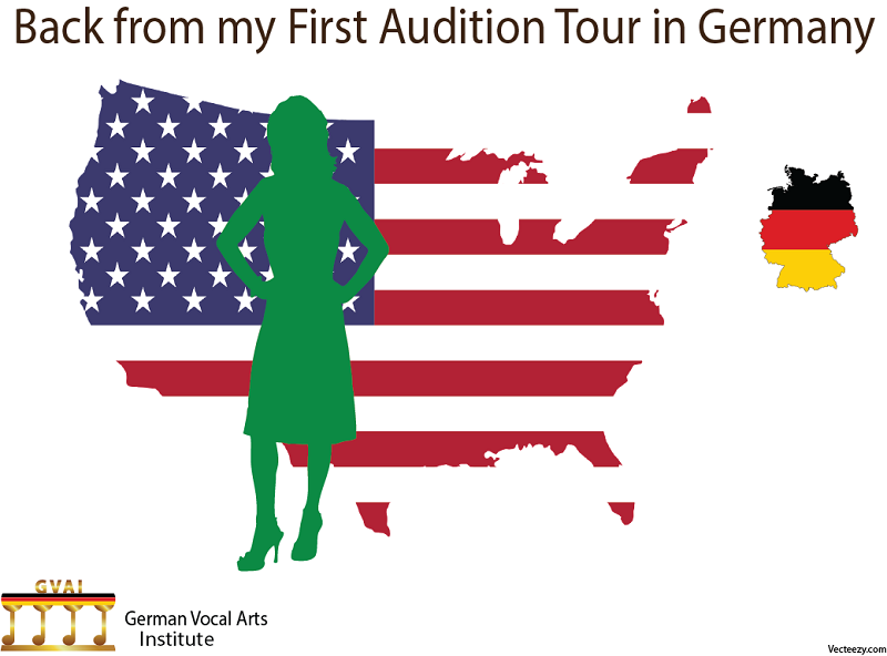 Susan is back from her audition tour in Germany.