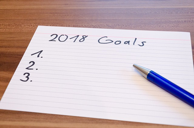 New goals for singing in 2018
