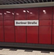 Photo Berliner Strasse Underground Station