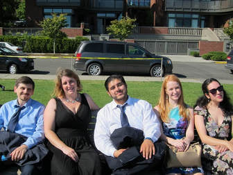 Singers of GVAI's summer music program 2016 enjoy their free time in beautiful Seattle.